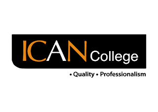 Ican college Logo Vector