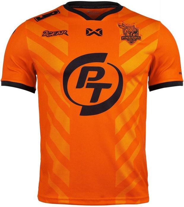 2gear divulga as novas camisas do PT Prachuap - Show de Camisas 0632135290707