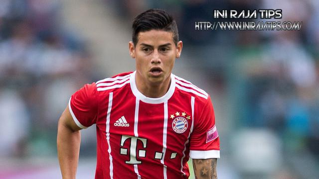 James Rodriguez Tetap Bertahan Di Bayern Munchen Musim Depan