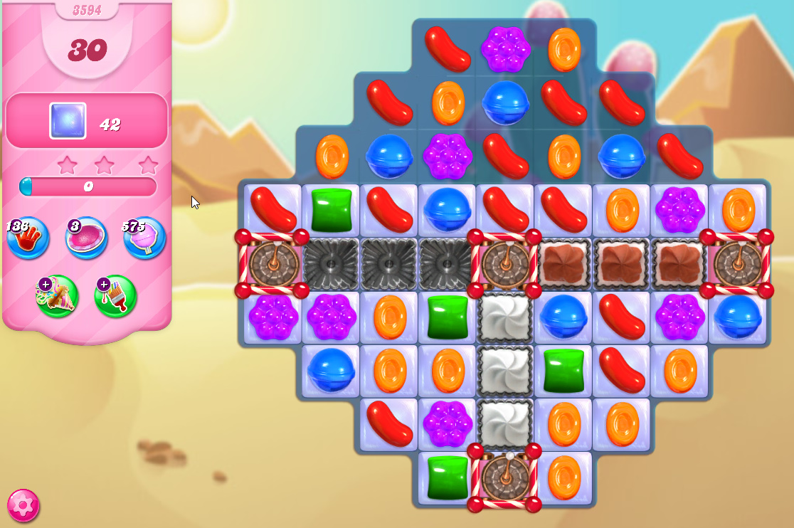 Candy Crush Saga level 3594