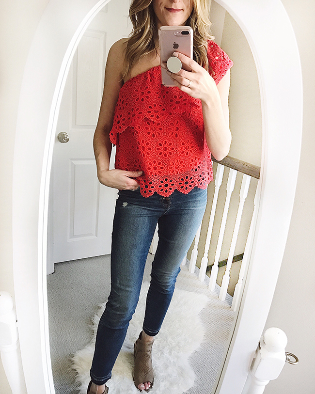 Stitch Fix Try on #stitchfix #springstyle