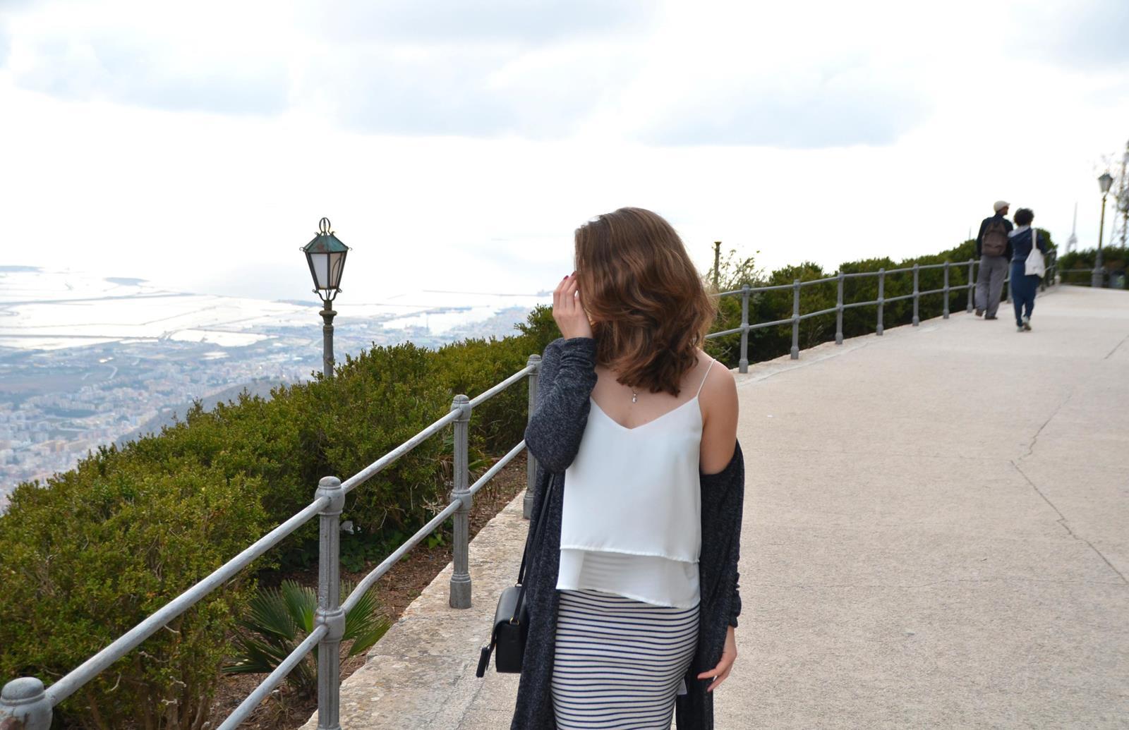 erice sycylia panorama