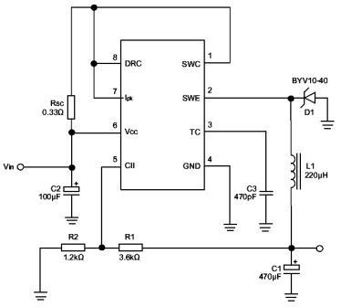 Inverter Circuit: frequency converter circuit using MC3406A
