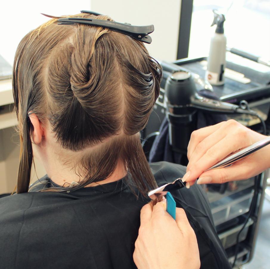 Kalligraph Haar