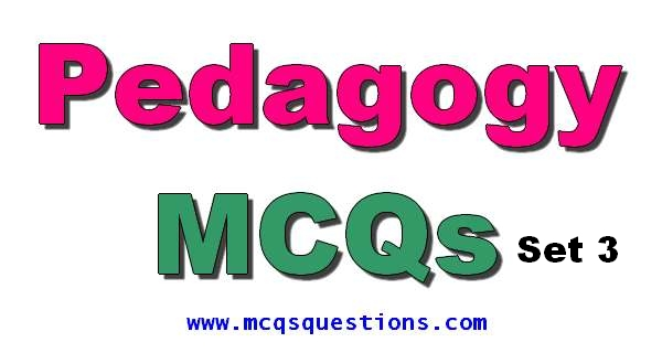 Educators Jobs Pedagogy Mcqs For NTS Set 3