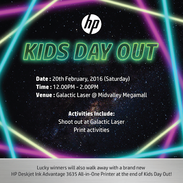 Head on to HP Malaysia's Facebook Page and join their latest Kids Day Out contest!