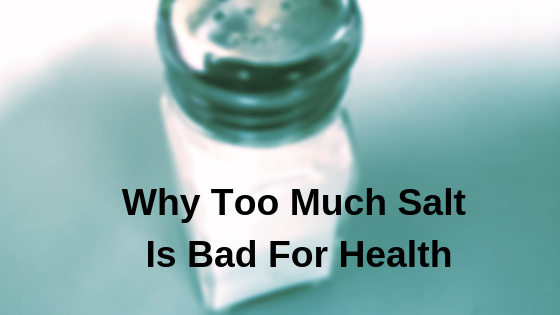 Eating Likewise Much Tabular Array Salt Side Effects
