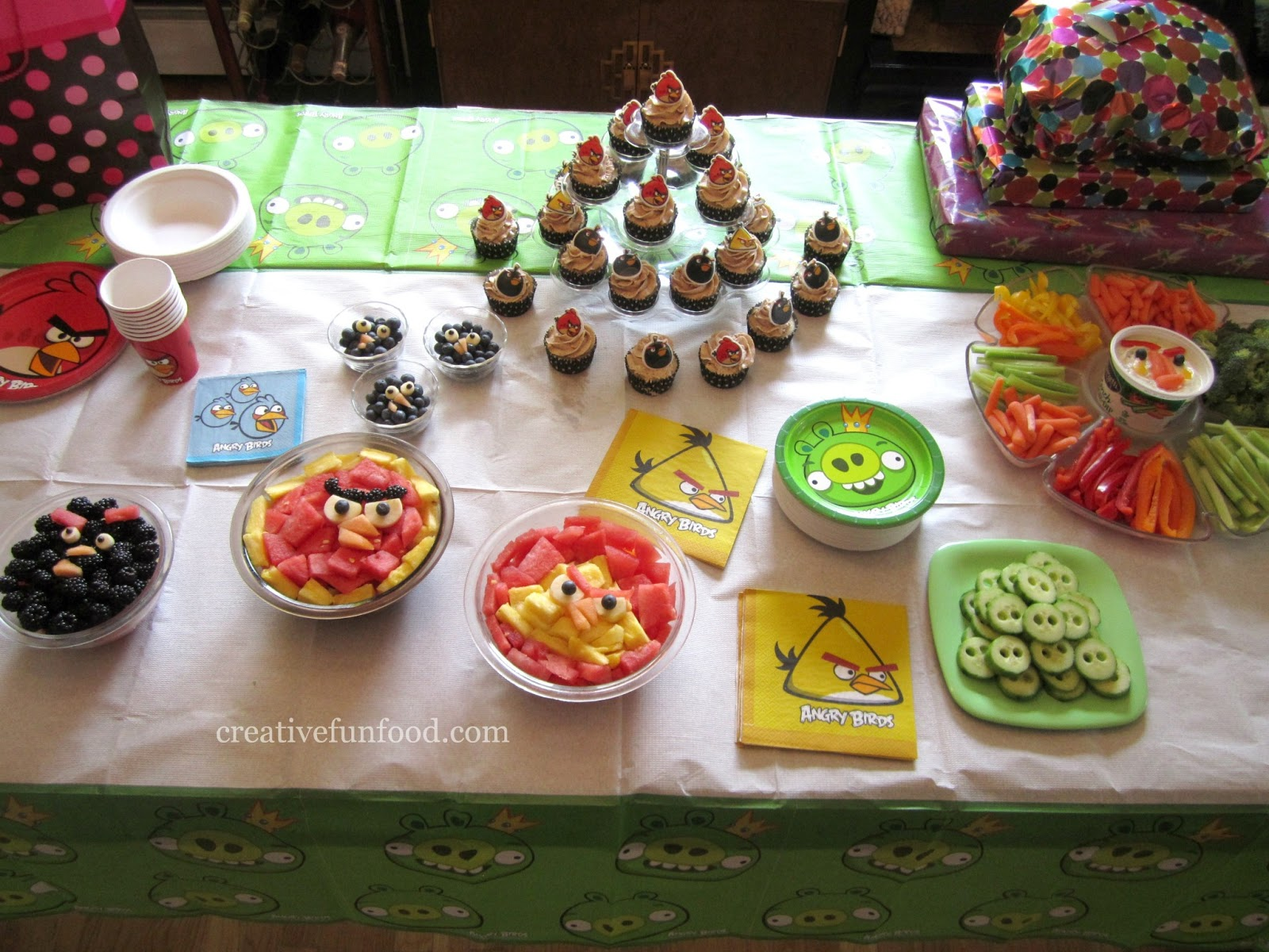 Angry Birds Birthday Party Ideas Creative Food