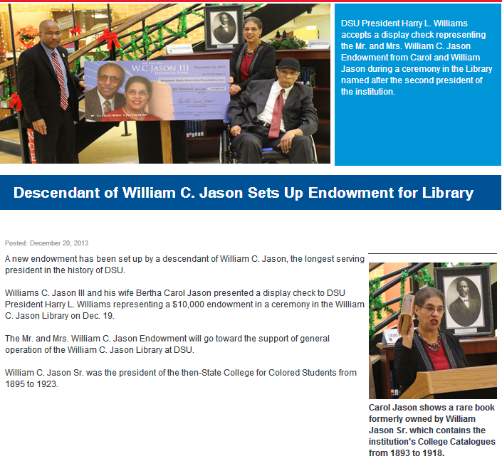 Delaware State University Archives and Special Collections