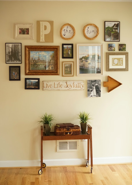 Gallery Wall Entryway Travel Pictures