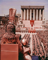 Escena Cleopatra - entrada a Roma