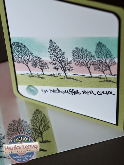 lovely as a tree Stampin'up!