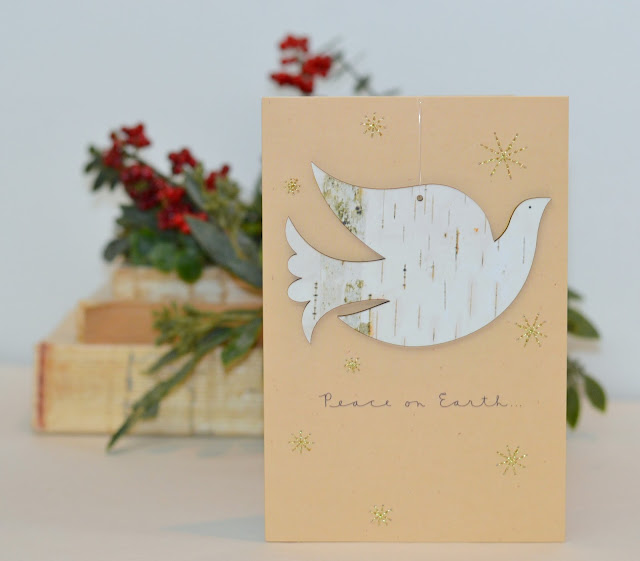 peace on earth, card ornament
