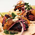 Chicken tacos Al Pastor style with achiote marinade