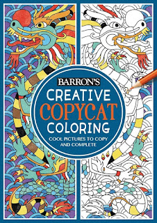 Creative Copycat Coloring: Cool Pictures to Copy and Complete