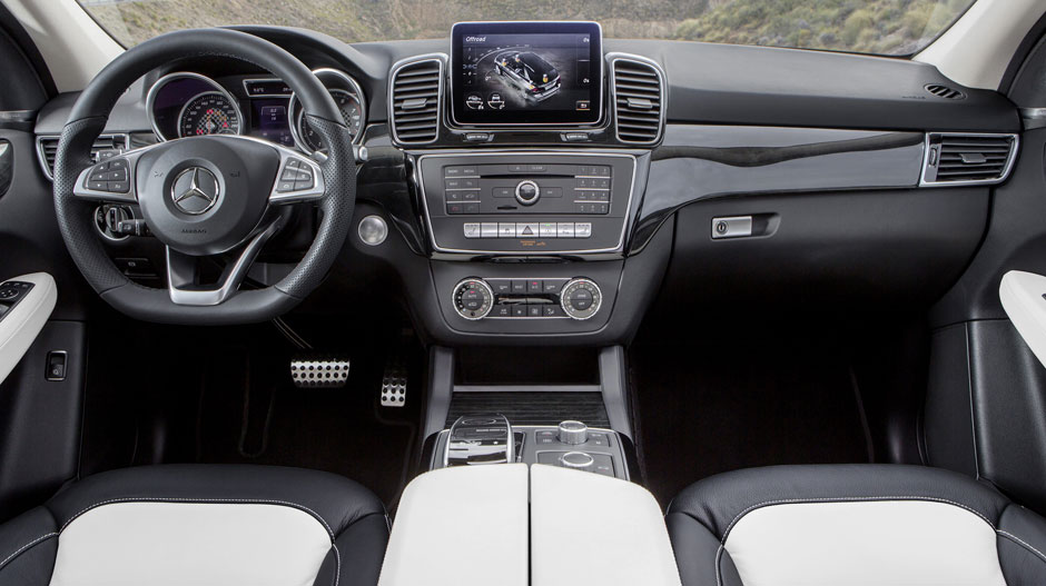 mercedes benz gle dashboard