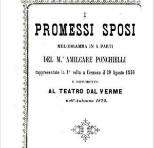 Amilcare Ponchielli I Promessi Sposi