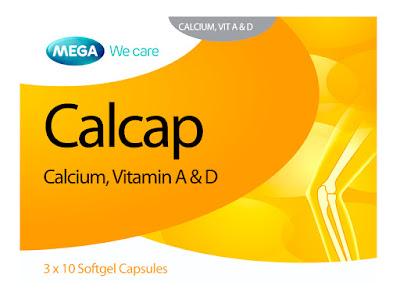 Calcap- Viên uống bổ sung Can xi của Thái