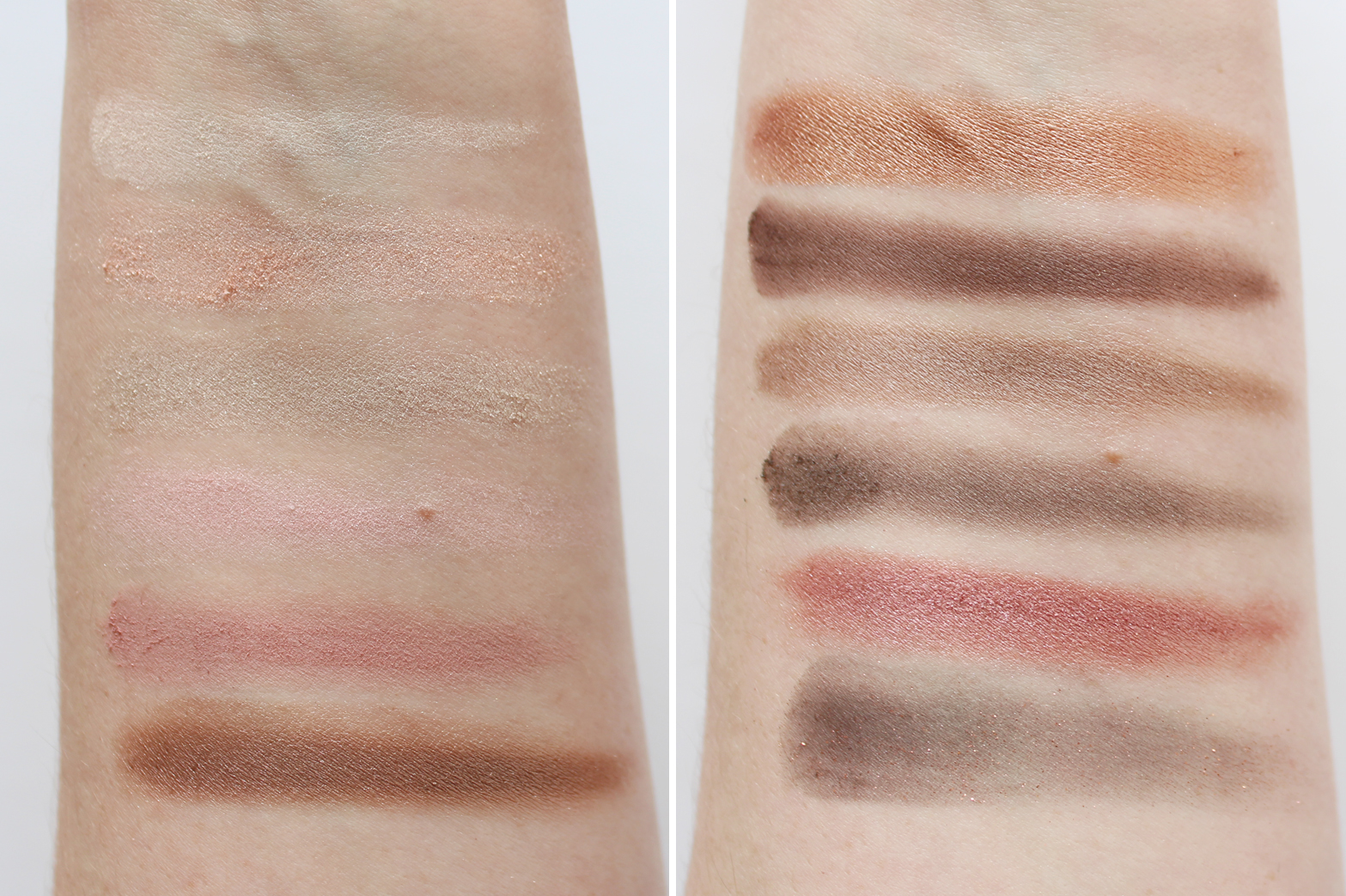 MAYBELLINE | The Blushed Nudes Eyeshadow Palette - Review + Swatches - CassandraMyee