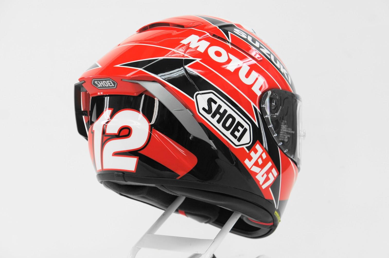 racing helmets garage shoei x 14 x spirit iii. Black Bedroom Furniture Sets. Home Design Ideas