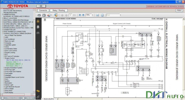 Toyota Yaris Verso Wiring Diagram Somurichcom
