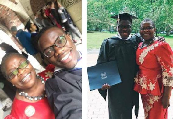 Oby Ezekwesili's Son Graduates From Yale University