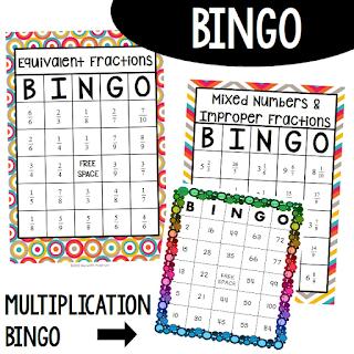 Math Bingo Games Meredith Anderson - Momgineer