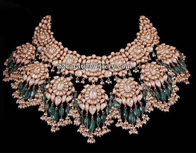 Polki Set by Umrao Jewels