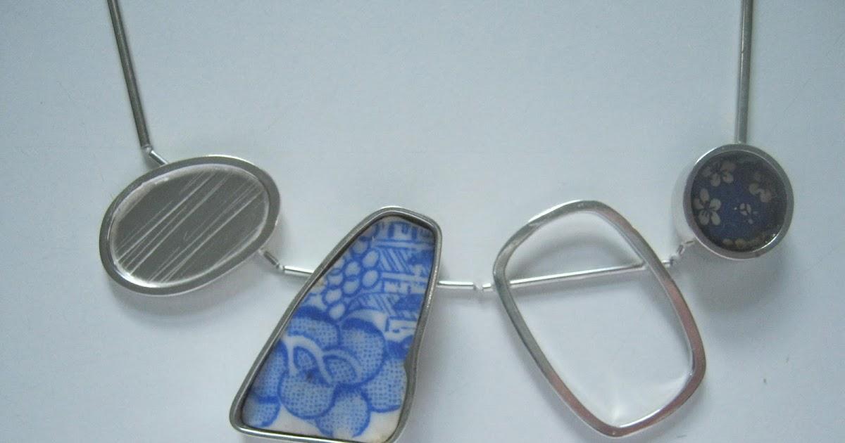Kathryn Williamson: Beach Pebble Necklace