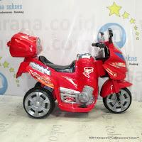 motor mainan aki yotta toys tornado red