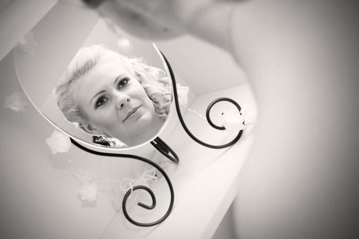 Ikea, lustro, blogerka, panna młoda, ślub, makijaż