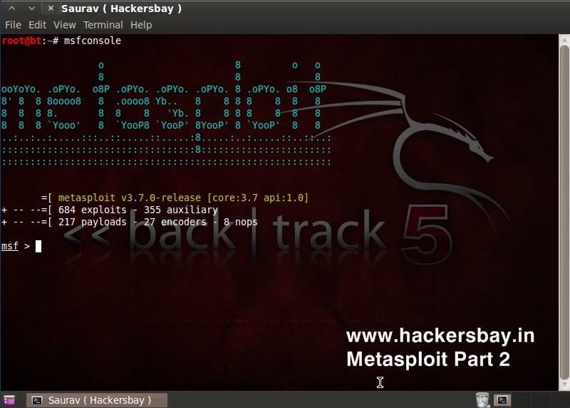 METASPLOIT: Metasploit Tutorial 2