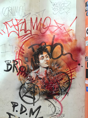 Palermo street art: C215 il bacco