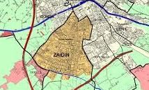 Mapa del barrio Zaidín de Granada