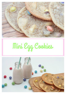 easter mini egg cookies