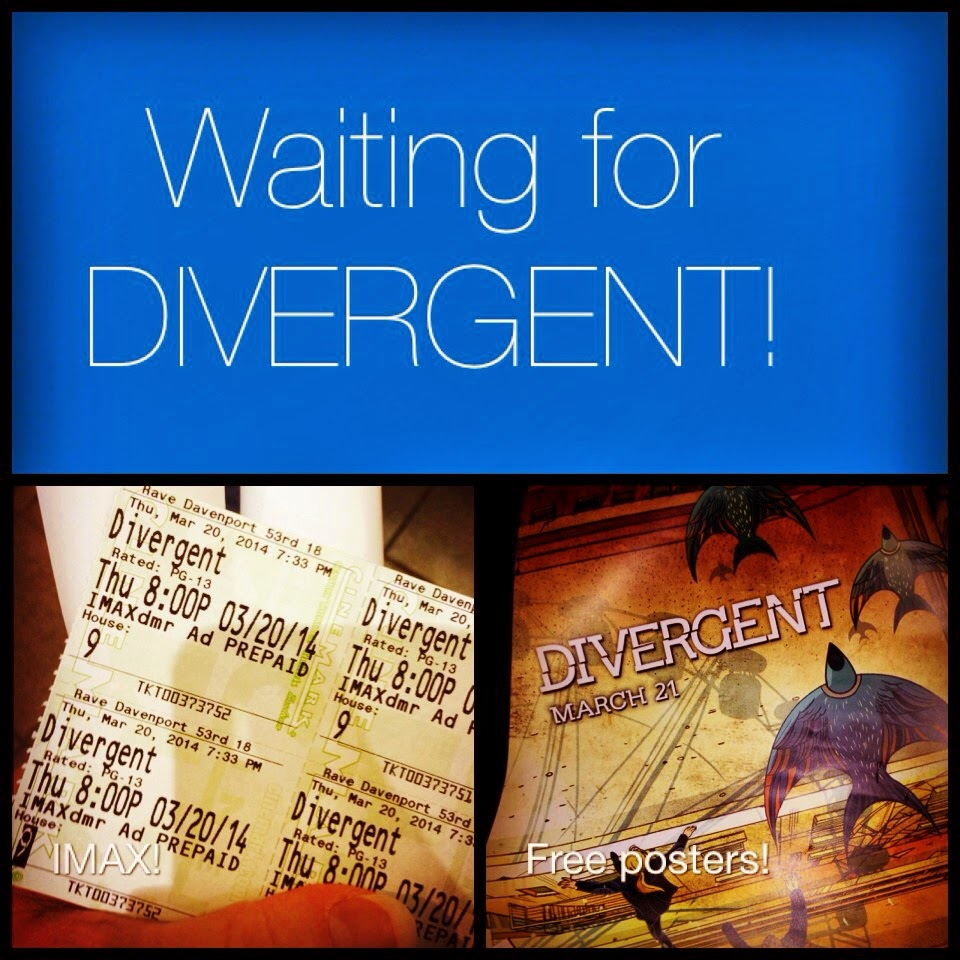 Waiting for Divergent: It's worth it!