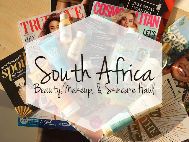 South Africa Beauty, Makeup, and Skincare Haul