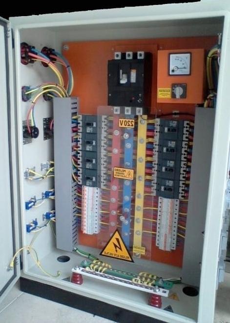 Tablero de distribucion electrica de una casa