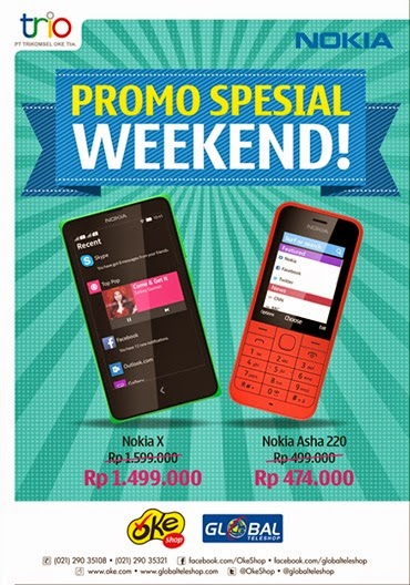 Nokia Weekend Promo