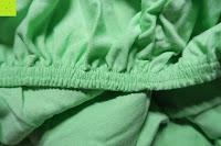 Gummizug: GOLD STERN Baumwolle Jersey-Stretch Spannbettlaken 140-160 x 200 cm, Apfel-Grün