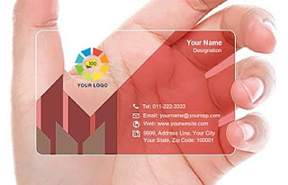 Transparent Business Cards Manufacturer