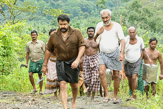Mohan lal in Manyam Puli Working stills