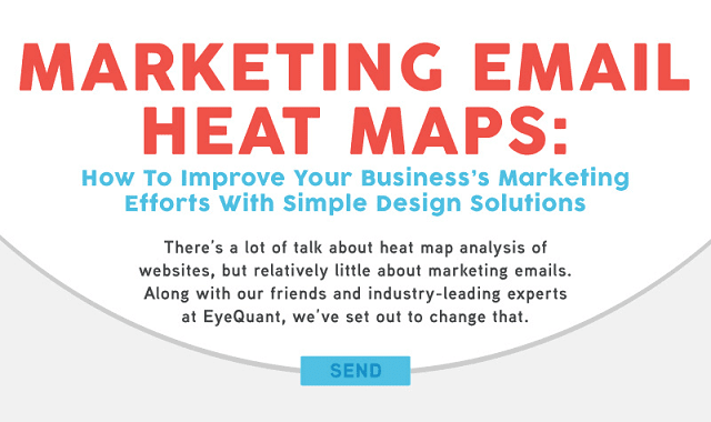What Marketing Email Heat Maps Can Teach Us about Email Marketing
