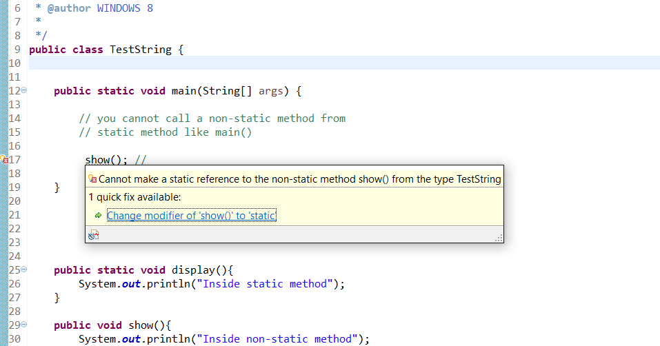 Can a Non Static Method Access a Static Variable/Method in Java?