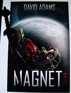Portada del libro Magnet, de David Adams