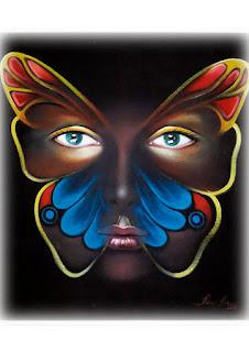 borboleta surreal