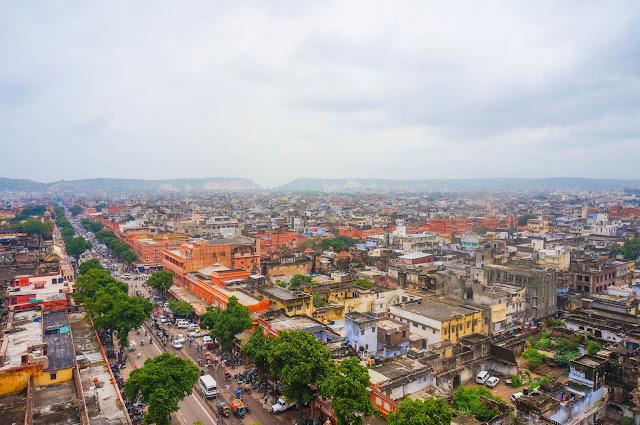 Jaipur, India, pink city