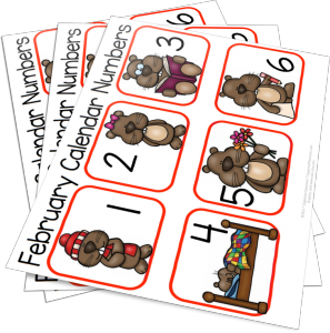 Want FREE Groundhog Calendar Cards?