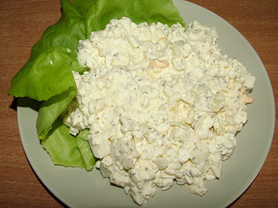 Serek wiejski z jajkiem