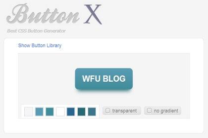 最佳 CSS 3D 按鈕產生器__Button X 操作心得
